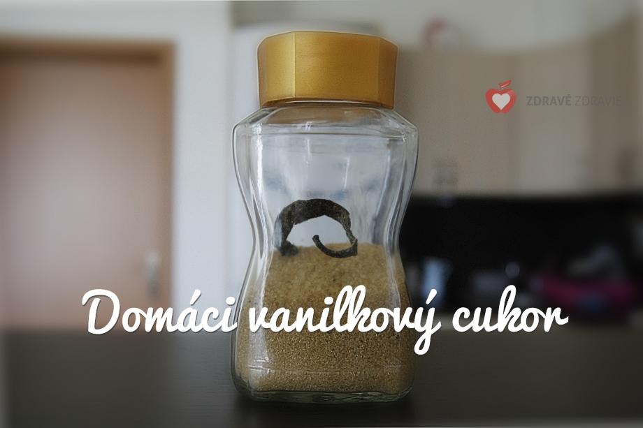 Recept na domáci vanilkový cukor
