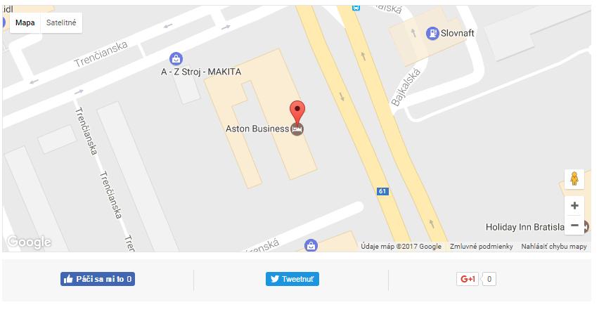 Mapka s GPS súradnicami.