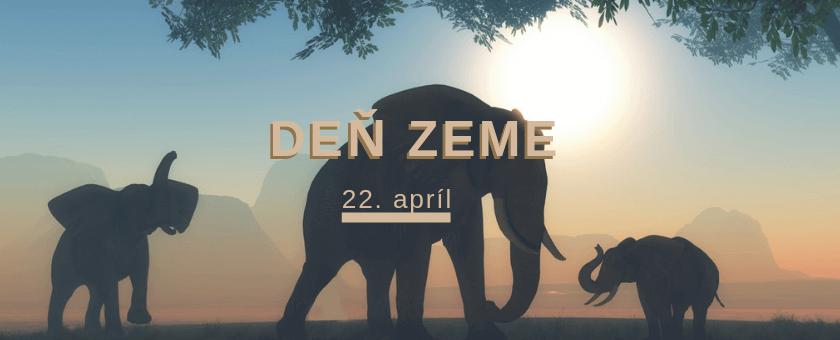 Deň zeme 22. apríl