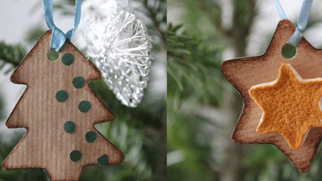 Ekologické a hravé vianočné ozdoby