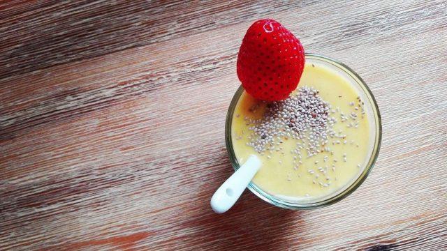 Mangové smoothie nabudí počas jarnej únavy